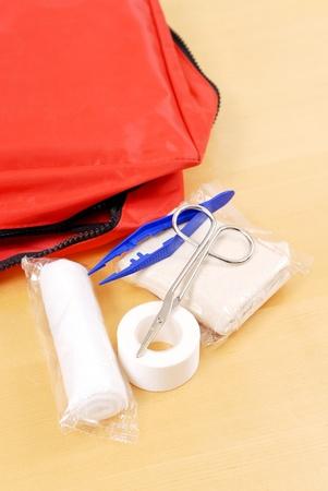 Utilitaires d'aide médicale Banque d'images - 9513981