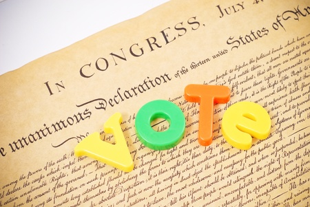 official ballot: Our Freedom and Right to Vote