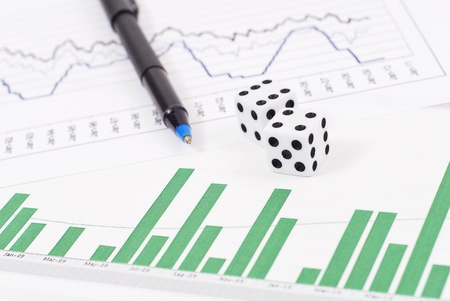 Dice on Stock Graphs and Pen