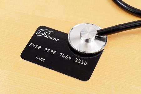 credit card debt: Credit Check Concept