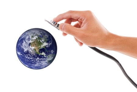 lifespan: Planet Health Stock Photo