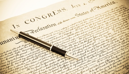 The Declaration Stock Photo - 9576755