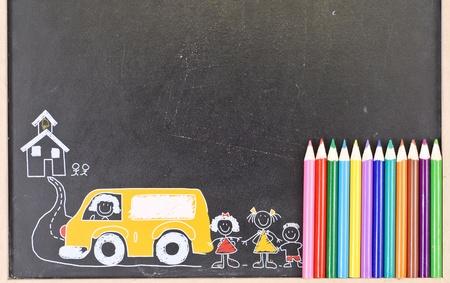 School Time Art Fun Archivio Fotografico