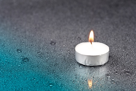 inner peace: Candle in the Rain