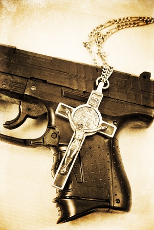 The Gunman Stock Photo - 9672815