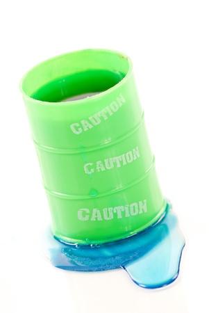 hazardous waste: Hazardous Waste Leak