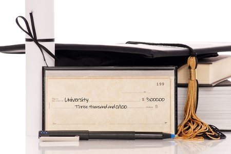 Check with College Tuition Payment photo
