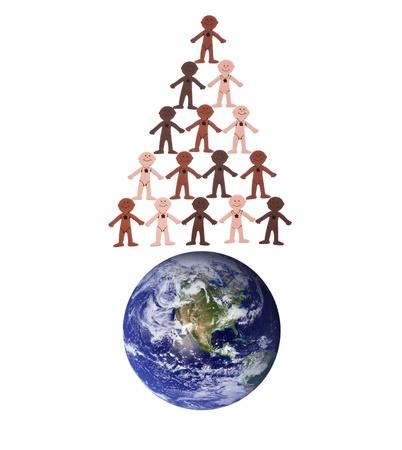 세계 인구 휴일 개념 스톡 콘텐츠