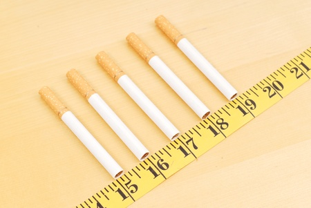 quitting: Gaining Weight From Quitting Stock Photo
