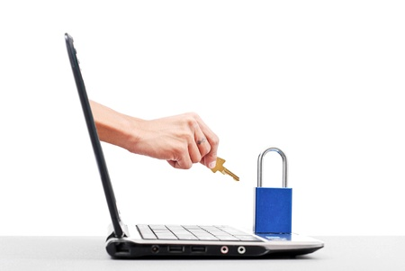 Cyber Attacker Trying to Hack Computer
