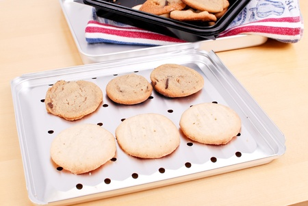 baking tray: Baking Cookies