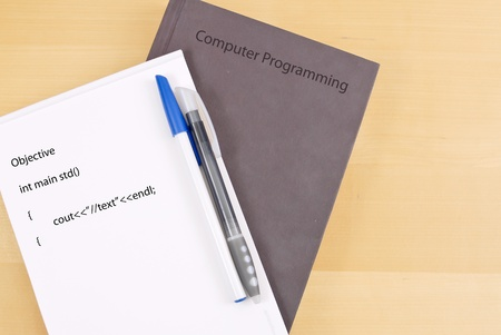Learning About Computer Programming Stock Photo - 10331050