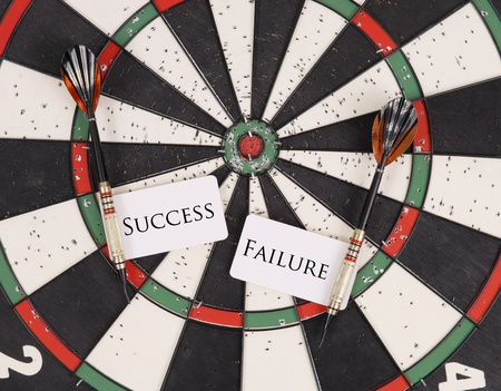 dart board: Choices of Success and Failure