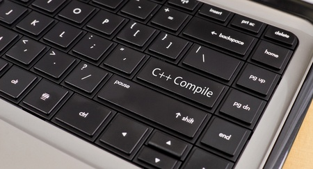 C++ Compile Button Stock Photo - 10369586