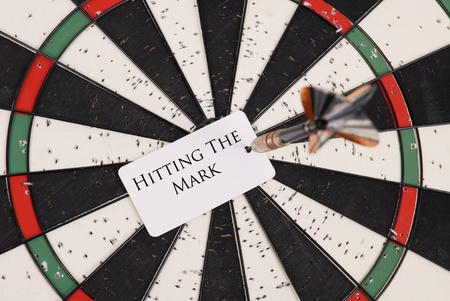 objectives: Hitting The Mark