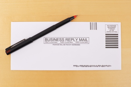 respond: Business Reply Mail Envelope