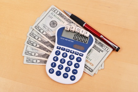 Gross Profit Business Calculations photo