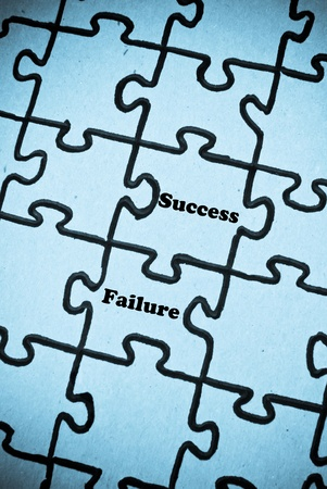 Success and Failure Going Together photo