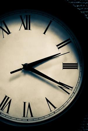 Het verstrijken van de tijd Stockfoto