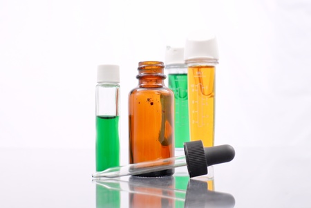 medical distribution: Chemical Experiment Stock Photo