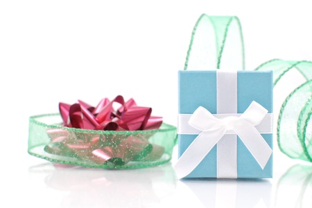 gifting: Christmas Gifting Stock Photo
