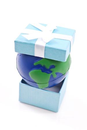 gifting: Regalos del Planeta Foto de archivo