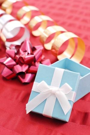 gifting: Gifting de Navidad Foto de archivo