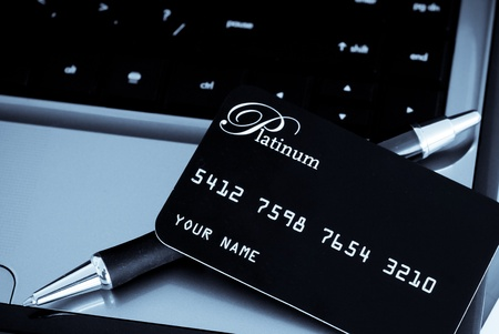 Credit Card Purchases Stock Photo - 10987571