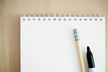 Writing a Memo Stock Photo - 11058403