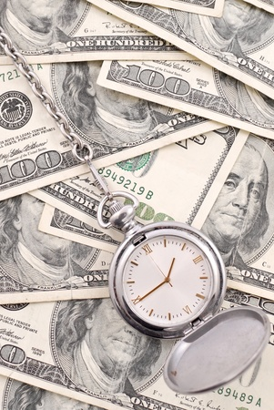 pocketwatch: Watch on Pile of Money