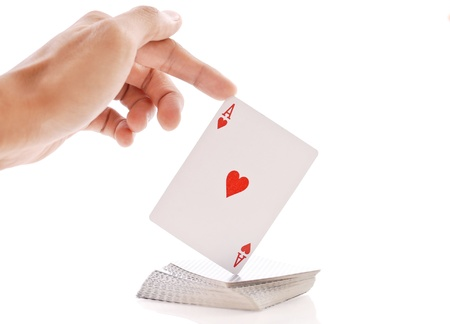 truc: Magic Tricks met speelkaarten