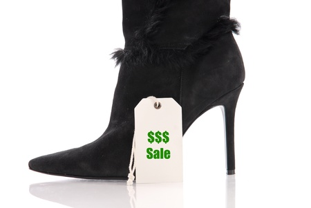 christmas profits: Buying Expensive Shoes