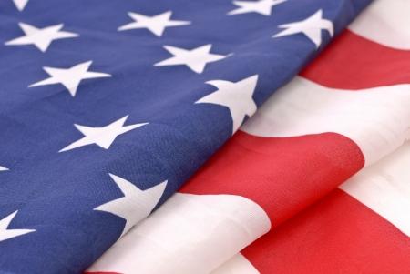 Vlag van Verenigde Staten Stockfoto