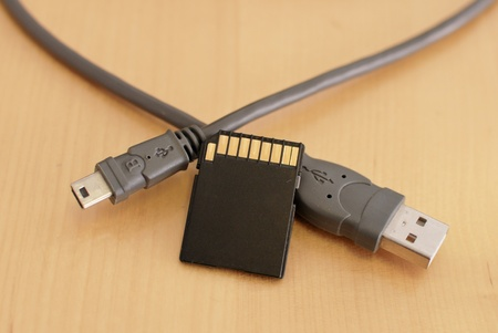 Memory Card and USB Camera Cables