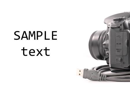 USB ケーブルで転送する写真
