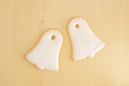 Bell Shaped Sugar Cookies Stock Photo - 11960885