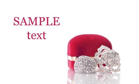 Beautiful Diamond Encrusted Fashion Jewelry photo