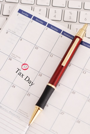 17th: April 17th Tax Day for 2012
