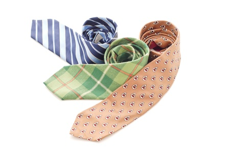 Three Fun arranged Business ties photo