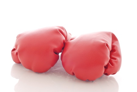 Two Boxing Gloves Banque d'images