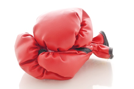 Boxing Gloves Banque d'images