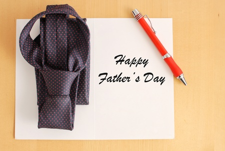 Father's Day Greetings Stock Photo - 12904922