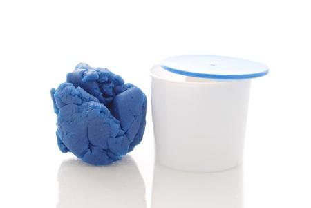 Speel Molding Dough Stockfoto
