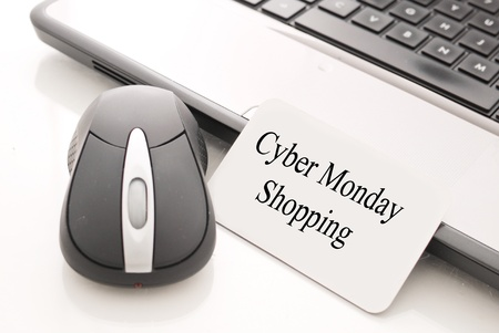 Shopping Online on Cyber Monday
