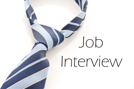 find a job: Job Interview Stock Photo
