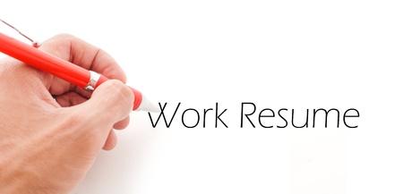 Work Resume