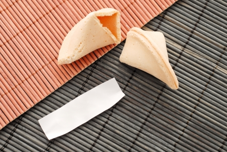 fortune telling: Blank Fortune Cookie Paper