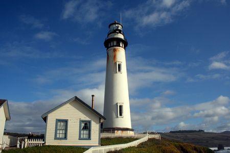 Pigeon Point Lighthouse California Coast