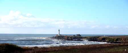 Pigeon Point Lighthouse California Coast Stock Photo - 3064667