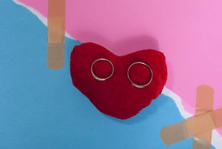 repairing the relationshipconquering love Фото со стока